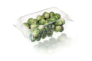 Flowpack & punnet - brussel sprouts